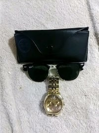 Gold Ray Bans & Gold WITTNAUER Watch For Sale Detroit, 48205
