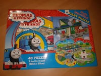 Thomas and friends Giant puzzle and look book.  Brampton, L7A 3C5