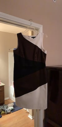 Black and white sleeveless dress San Antonio, 78256