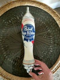 REDUCED Pabst Blue Ribbon (PBR) 2 Sided Tap Hadle