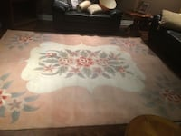 pink, white, and green floral area rug Ontario, M1J