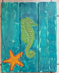 Funky 3D seahorse and starfish  New Port Richey, 34653