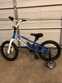 blue and white BMX bike Frederick, 21704