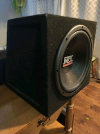 12 inch car subwoofer and amp