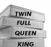 King and Queen Size Mattress Sale on Nationally Known Brand