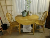 Space saving table/2 chairs Downey, 90240