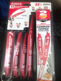 VALUE PACK!!! Brand new Reciprocating blades with case San Diego, 92126