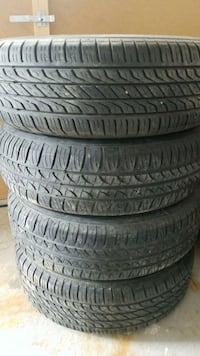four black rubber car tires Bradford West Gwillimbury, L3Z