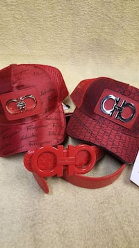 Fashionable belt and cap Bakersfield, 93312