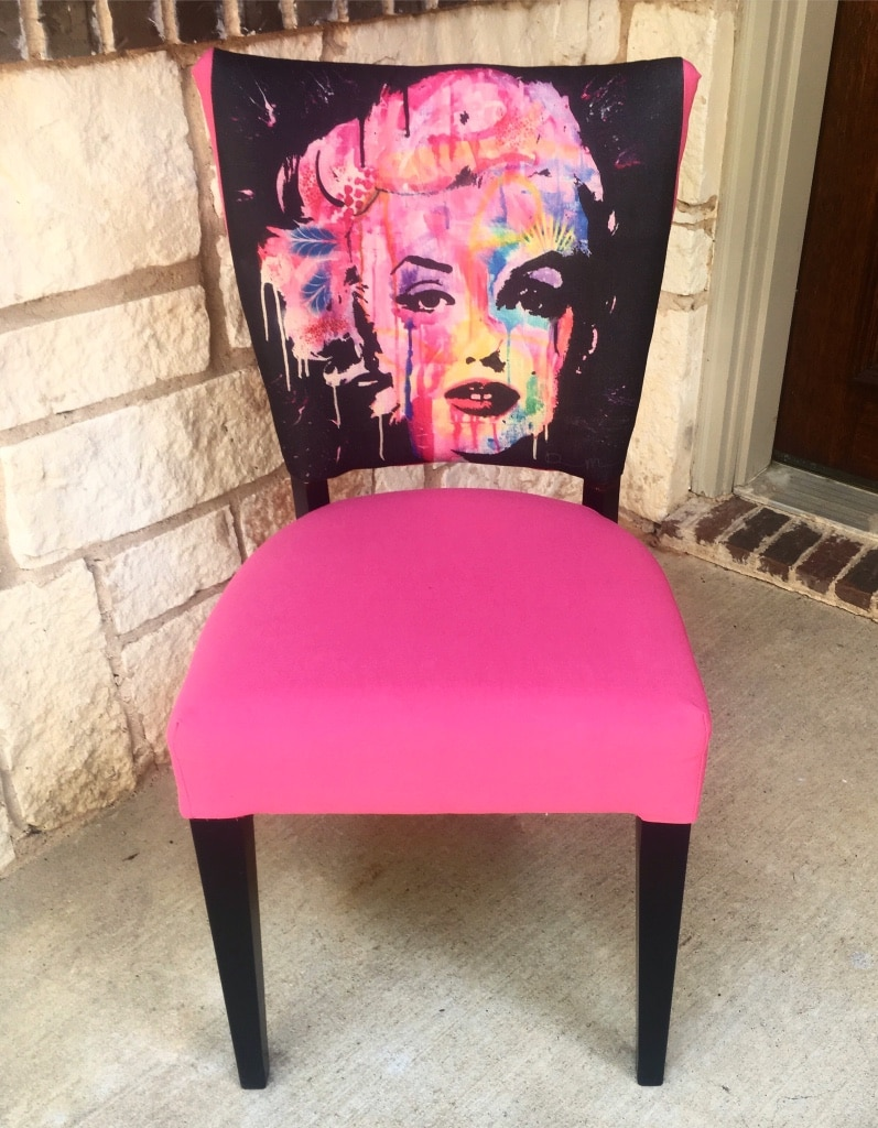 Marilyn Monroe Accent Chair & Used Marilyn Monroe Accent Chair for sale in Keller - letgo