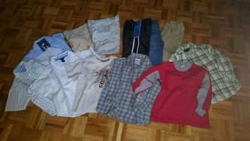 12 PIECES OF BOYS CLOTHING SIZE 3/3X