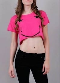 New size small Abby Dawn crop top