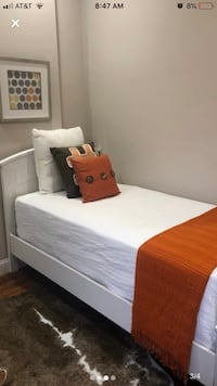 White wood twin bed Potomac, 20854