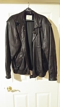 XL Marco Serafino Leather Jacket Clarksburg
