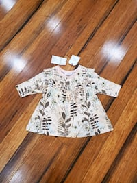 New with tags Next baby tunic dress 0-3 months
