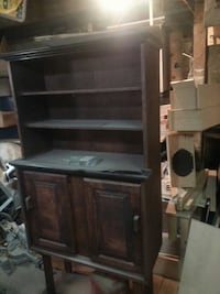 brown and black wooden hutch Coshocton, 43812