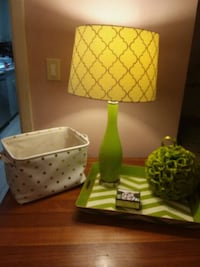 Lamp w/decor