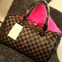 Damier Ebene Louis Vuitton leather tote bag Laval, H7X 3T5