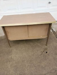 Vintage Buffet Credenza cabinet/TV stand