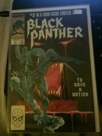 Black panther comic  Toronto, M6K 3G7