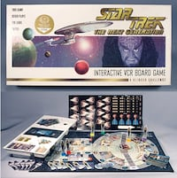 Star Trek The Next Generation VCR Interactive Board Game Toronto