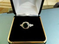 Sterling silver emerald ring. Maryville, 37801