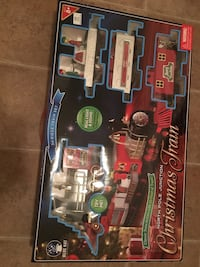 Blue hat 34 piece train set-north pole junction christmas train (new never used available in box) Greenville, 29607