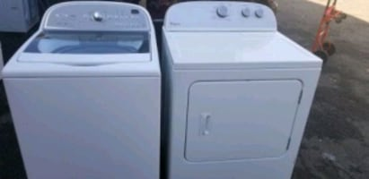 WHIRLPOOL ELECTRIC 220VOLT DRYER WASHER  SET