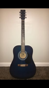 Blue indiana acoustic guitar Alexandria, 22306