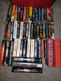 Novels - Dean Koontz, Patricia Cornwell and others London, N6C 3V2