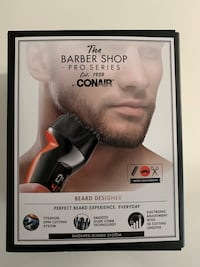 *NEW SEALED* Conair Pro Series Men's Beard Trimmer & Designer Toronto, M1L 1L4