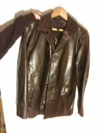 LEATHER STRUCTURE JACKET