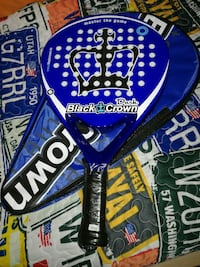 Pala de padel Black Crown Dark nueva Madrid, 28050