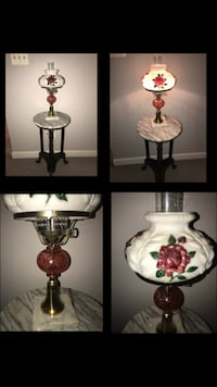 Vintage Gone with the Wind Style Hurricane Lamp Fairfax, 22033