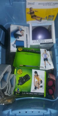 ***LARGE EXCERCISE LOT***