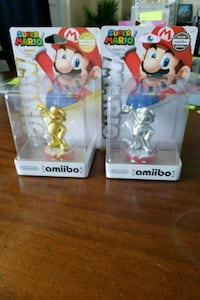Gold and Silver Mario Amiibo Burlington, L7T 3Z4