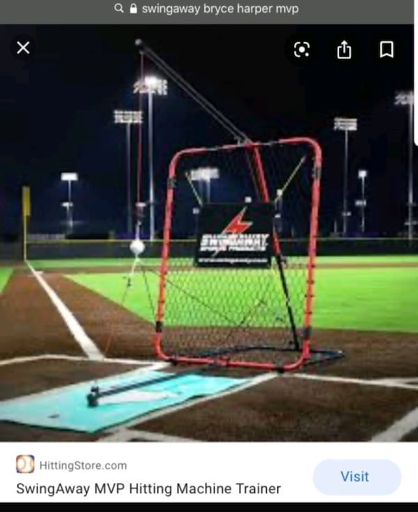 Swingaway bryce Harper MVP swing trainer  0