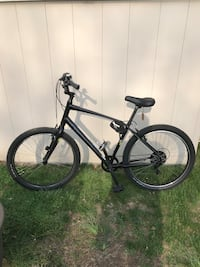black and gray hardtail mountain bike Rutherford, 07070