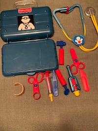 Fisher Price Toy Doctor/Nurse kit very durable