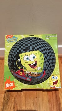 "Brand new SpongeBob Square pants 81/2"" playground ball Los Angeles"