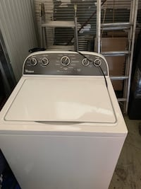 Whirlpool high efficiency washing machine Denver, 80222