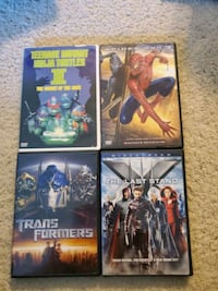 4 DVDs Canton