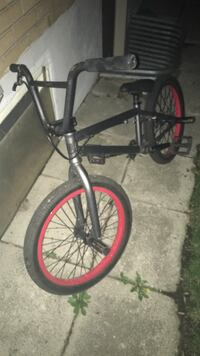 Black and red bmx bike Guelph, N1G 1H6