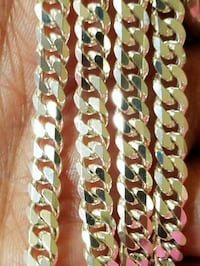 Solid Sterling silver chain in 30inc