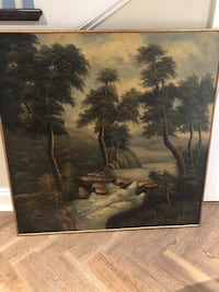 Framed Oil Painting on panel (reproduction) Chevy Chase, 20815