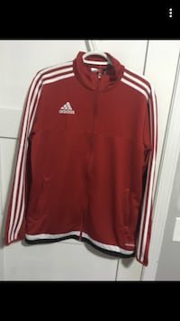 red and white Adidas zip-up jacket Calgary, T2C 3N5