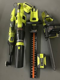 Ryobi Combo Set With Battery And Charger