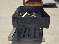 "57""X35""X11"" PARTS WASHER TANK W/STAND Colton"