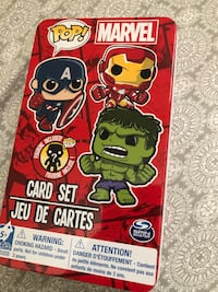 Marvel Funko Pop Playing Cards