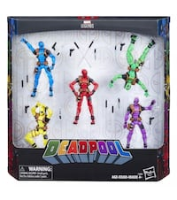 Marvels Legends Deadpool Rainbow Squad Brooklyn Park, 55443